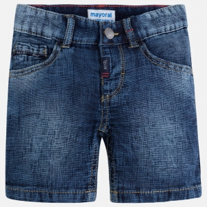Bermudy denim struktura Mayoral 3254-5