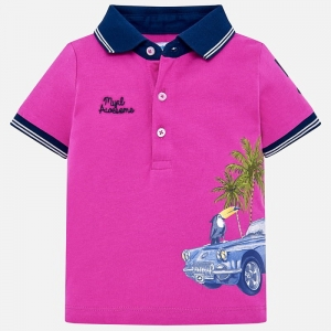 Polo z printem Mayoral 01121-065