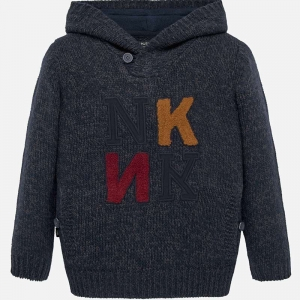 Sweter z kapturem Mayoral 07311-069