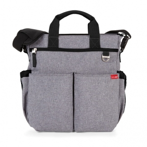 SKIP HOP Torba Duo Signature Heather Grey