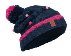 Czapka Knitted & Polar DYSHA DARK NAVY BUFF